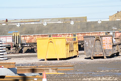 112048 Hoo Junction 160218 (Dan86401) Tags: 112048 oca ocan bass dropsideopen wagon br fishkind fourwheeled freight db dbcargo engineers departmental infrastructure civilengineer hoojunction