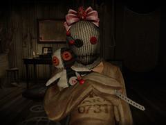 Voodoo dolls (Kagemaru McMahon) Tags: katat0nik madpea deathrowdesigns antinatural voodoo horror