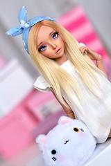 :3 (4arllin) Tags: bjd minifee mnf celine doll alpaca wig fairyland tan toy vings eyes