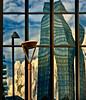 milan (R Pestarino www.fotorobit.it) Tags: milan tower window mirror cloud light