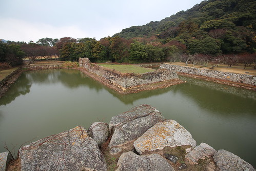 Hagi Castle Inner Moat and Walls #5