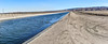 California Aqueduct at marker 313.56 HWY 138 (joe Lach) Tags: californiaaqueduct neenach panoramic panorma trail walkingpath dirt mountain flowingwater stream river joelach highway138