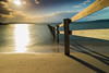 Sunset at Sandford (allanwilliams58) Tags: tasmania tassie lovetassie fence