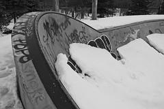 XP020098 (My1K) Tags: blackandwhite blackwhite bw snow graffiti