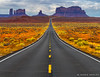 The Long Road (James Neeley) Tags: utah monumentvalley milemarker13 roadway landscape jamesneeley
