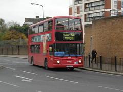 9814 - LB52 URZ. Formally numbered TA114. (wagn1) Tags: dennistrident alexanderalx400bodywork abellio abelliolondon travellondon nationalexpress connex connexbus transportforlondon tfl londontransport londonbuses buses canadawater london