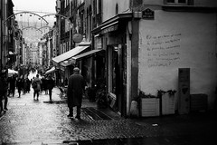 💭 (AloysiaVanTodd) Tags: analog blackandwhite bnw noiretblanc street natural light winter life streetlife art streetart people expressive lomography city france