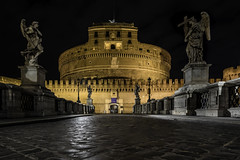 Lungotevere Castello at night (A.Dissing) Tags: lungotevere castello night rome rom roma italy 2018 a7ii anders a7 amazing art adventure awesome a7m2 artistic angle down looking up yellow zeiss sony scape exposure ending enjoy young unique under orange outdoor outside out off magic magical mixing explore long