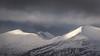 Fleeting light (danjh75) Tags: ngc nikon tele telephoto blue grey landscape scotland glencoe snow clouds camping light rocks