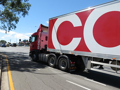Coles Scania G440 Truck & Trailer (RS 1990) Tags: coles scania g440 truck trailer teatreegully modbury teatreeplaza adelaide southaustralia february 2018