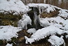 Waterfall in the snow crusts (МирославСтаменов) Tags: russia moscowregion pushchino snow waterfall icicle rocks