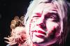 IMG_1207 (Zero.Source) Tags: makeup maquillaje zombie sangre blood 35mm moscow blackwhite model longhair manportrait portrait zombi freak retrato maquillage 化粧 moscu moscou modèle modelo