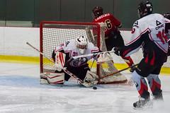 Bel arrêt... (Patrick Boily) Tags: hockey gardien but goal save goalie quebec