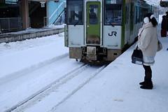 Shimokita Rapid Service (快速しもきた) (しまみゅーら) Tags: fujifilm xe2 xf 35mm f14 ebc fujinon astia oneday shimokita hachinohe train trip