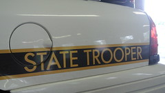 Pennsylvania State Police (Emergency_Spotter) Tags: pennsylvania state police pa keystone ford fleet crown victoria psp butler barracks white brown trooper troop d 2011 statie emergency cvpi p7b rear art america body frame boat yacht classic scheme oldie but goodie unit d69