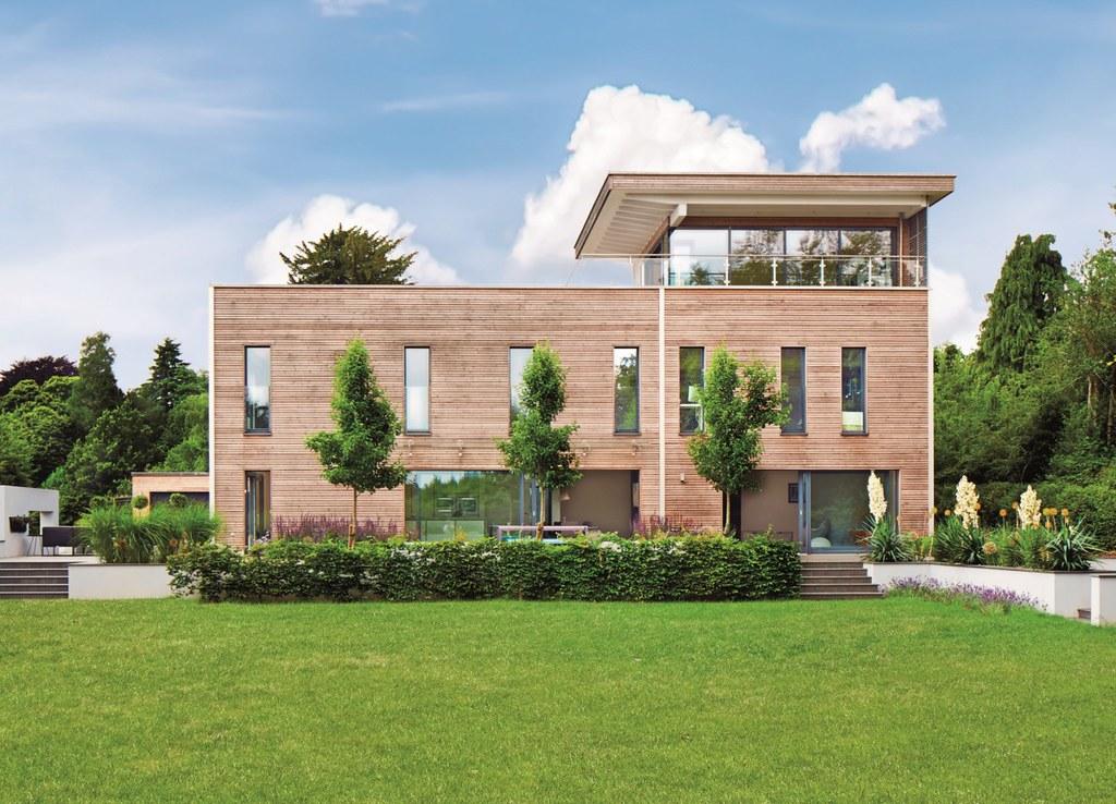 The world 39 s best photos of fertighaus flickr hive mind for Haus modern