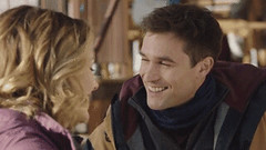 New trending GIF on Giphy (I AM THE VIDEOGRAPHER) Tags: ifttt giphy love happy smile laugh laughing smiling flirting flirt flirty giggle giggles hallmark channel winterfest taylor cole one winter weekend jack turner