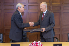 WIPO and Algeria Sign External Office Host Agreement (WIPO | OMPI) Tags: algeria directorgeneral francisgurry ompi wipo