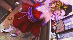 Suzu (clau.dagger) Tags: exia kimono zouri kurenai monkeygirl mg decor hinamatsuri gacha naminoke flower accessories the coven insol sintiklia theepiphany catwa maitreya mutresse twilight milaposes secondlife japan