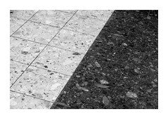 Split (SopheNic (DavidSenaPhoto)) Tags: floor tile monochrome divided xf55200 fuji bw xt2 split blackandwhite fujifilm