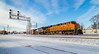 NS 331 (Brandon.H.Photography.) Tags: snow ohio train rail railway railroad locomotive ge winter bellevue mini plant bnsf ns norfolksouthern burlingtonnorthernsantafe 331 es44dc