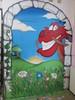 Mulan Commission (egoworrierdesign) Tags: egoworrier graffiti mural kids bedroom mulan mushu montana94 meadow flowers sunshine castle