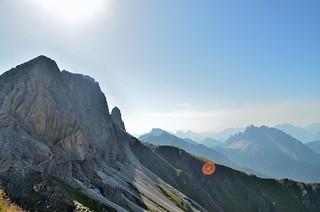 Monte Cavallino, en route to the Filmoor-Standschützenhütte, Dolomites
