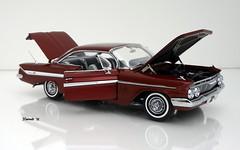 1961 Chevrolet Impala SS 409 2dr Hardtop (JCarnutz) Tags: 124scale diecast wcpd 1961 chevrolet impalass