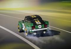 LEGO Speed Champions 1968 Mustang Fastback (Daniel..75) Tags: car voiture lego ferrari porsche speed wallpaper base tuning star wars moc photo sport berline 4x4 luxe paysage art creation