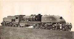 "Rhodesia Railways - RR Class 15 4-6-4+4-6-4 ""Beyer Garratt"" type steam locomotive Nr. 272 (Beyer Peacock Locomotive Works, Manchester-Gorton 6927 / 1939) (HISTORICAL RAILWAY IMAGES) Tags: steam locomotive rr rhodesia bp beyerpeacock manchester gorton garratt railways"