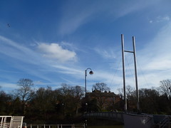 Afternoon light (KiranParmar) Tags: morning afternoon light sky lamppost castle gardens