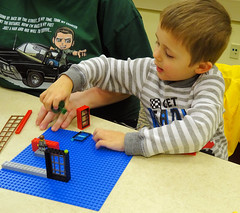 Block party building club, Middlefield (Geauga County Public Library) Tags: lego blocks kids kidsinlibrary children childrens youthprograms youthservices youth youthprogram