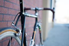 Panasonic Dx-5000 (adrianonymous) Tags: bicycle bicycles bike bikes panasonic roadbike road steelisreal sacramento sac steel campagnolo cycling cinelli fizik