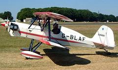 G-BLAF Stolp SA.900 V-Star [PFA 106-10651] Kemble~G 13/07/2003 (raybarber2) Tags: abpic airportdata approachtodo biplane cnpfa10610651 egbp flickr gblaf pfa10610651 single ukcivil