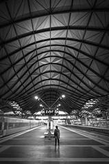 Stationary (J-C-M) Tags: southern cross railway train station stationary passenger evening melbourne victoria australia