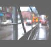 Urban Behaviour (Mark Somerville.) Tags: street hamilton bokeh rain fuji 35 20 lunch time mark somerville