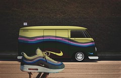 Combi Nike Air Max Wotherspoon (A x e l A l e x i s✞) Tags: nike wotherspoon lowriders low streetwear volkswagen sneaker red green blue pink grey yellow brown edicion elegance edition design vehiculo stance static steelies supreme porngaraje auto street 2d combi old museum car bag