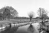 WaterWay (mdavies149) Tags: water trees grass monocrome blackandwhite parks reflections bw winter bushypark londonparks royalparks parkland england landscapes uk nikon d600 michaeldavies