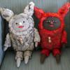 Forest Sprites (Grumble Toy) Tags: grumbletoy ainsleysturko handmade plush toy arttoy