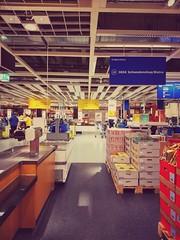 #IKEA madness today... #shopping #furniture #shop #sweden #dresden #europe (claudio-g-c) Tags: europe ikea sweden shop shopping dresden furniture