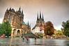 Erfurt - Erfurter Dom - Severikirche (Ventura Carmona) Tags: alemania germany deutschland thüringen erfurt domplatz erfurterdom severikirche catedraldeerfurt venturacarmona