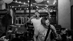 Beaten To Death (morten f) Tags: beaten death band metal grindcore live konsert concert abelone norge norway 2018 brularm bylarm monochrome singer vocalist chord mic microphone