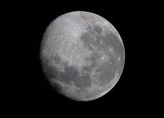 Tránsito ISS-Luna 3/3/2018