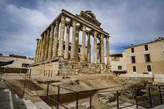 El templo de Diana (Nebelkuss) Tags: mérida templo temple diana hdr ruinasyyacimientos ruinas ruins fujixt1 samyang12f2 romanos romans latino latin