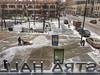 Chillin' (lindakowen) Tags: twincities minneapolis siberiawest urbanlandscape winter snowblower orchestrahall