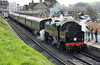 Swanage Station Pilot (davids pix) Tags: 80146 british railways riddles standard tank preserved steam railway locomotive swanage station 2017 02042017