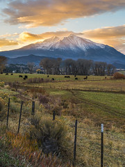 A Rancher's Paradise (PlataYOro) Tags: ifttt 500px trees field landscape forest sunset mountains beautiful snow alone countryside mountain pasture hill outdoors scenery rural scene adventure scenic slope peak range country road explore snowcapped horizon over land copse village rolling