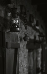 Life in Olympus (owdtwobad) Tags: object detail rural closeup light shadow monochrome blackandwhite handcraft decay iron