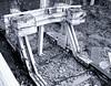 End Of The Line (tcees) Tags: bw mono monochrome blackandwhite southendcentralstn clifftownrd southendonsea wood railwaylines rails railway sleepers gravel buffers railwaybuffer essex x100 fujifilm urban