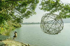 Lakeside, Nepal (Sajivrochergurung) Tags: nature lake swing